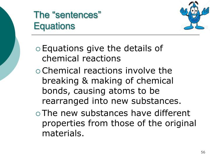"The ""sentences"""