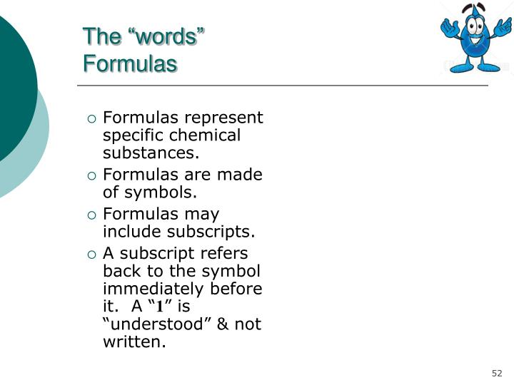 """The """"words"""""""