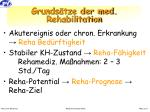 grunds tze der med rehabilitation