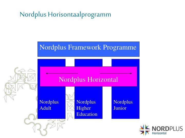 Nordplus Framework Programme