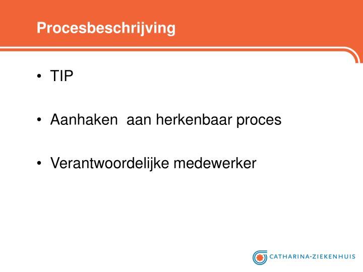 Procesbeschrijving