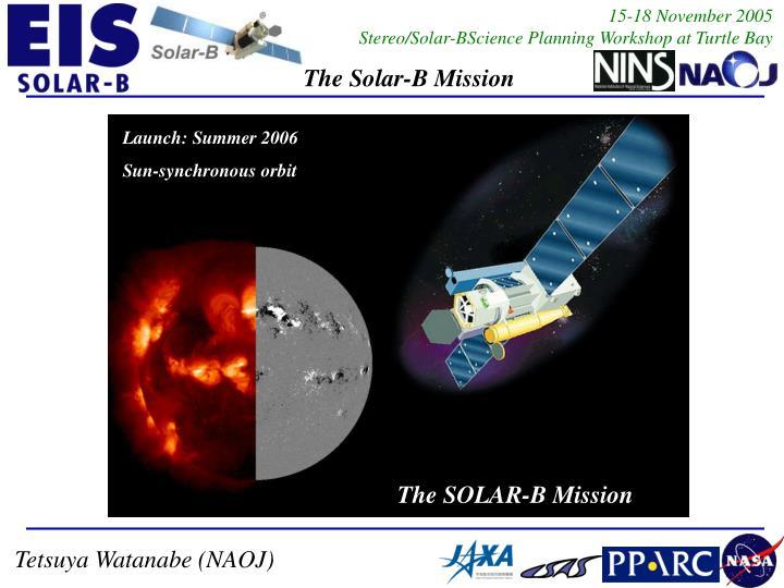 Launch: Summer 2006