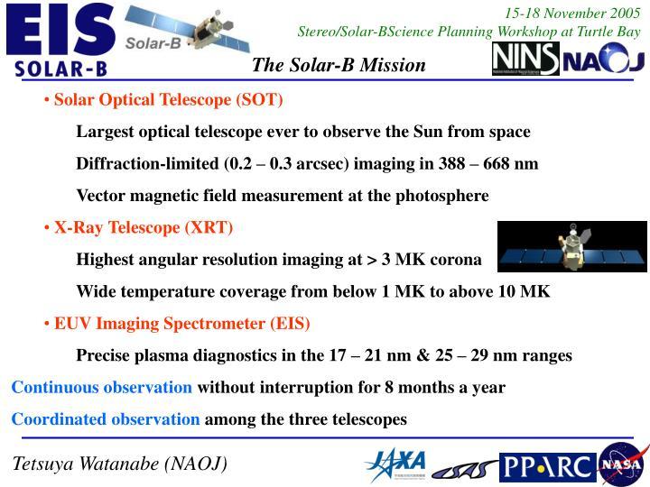 Solar Optical Telescope (SOT)