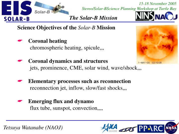 Science Objectives of the