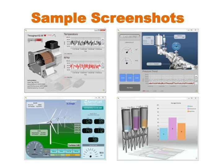 Sample Screenshots