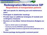 redesignation maintenance sip requirements of transportation partners