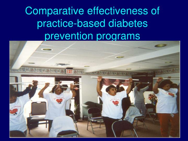 Comparative effectiveness of practice-based diabetes prevention programs