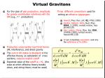 virtual gravitons