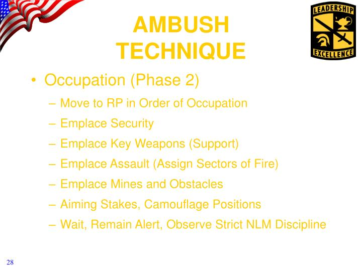 Occupation (Phase 2)