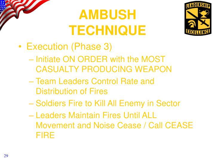 Execution (Phase 3)