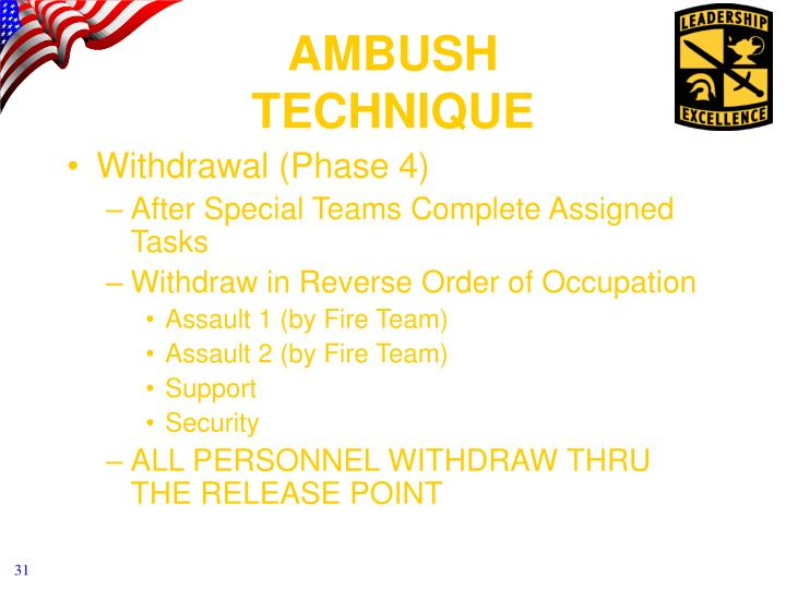 Withdrawal (Phase 4)