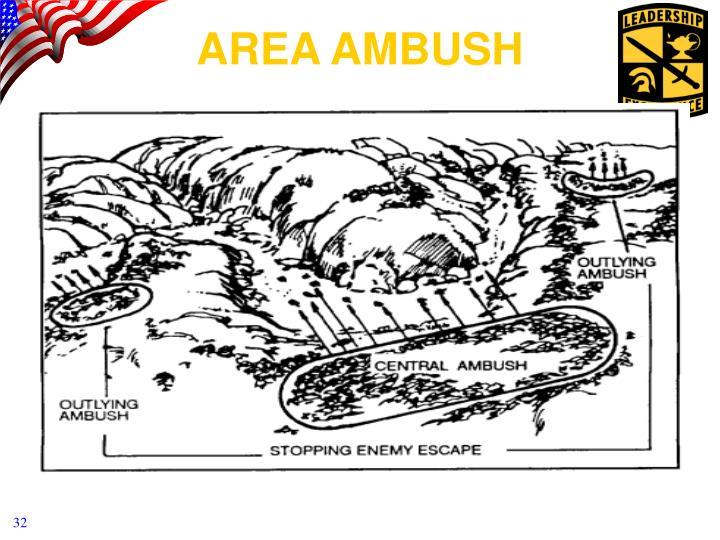 AREA AMBUSH