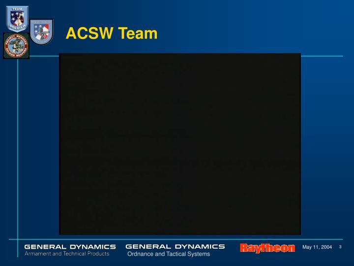 Acsw team