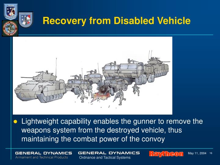Recovery from Disabled Vehicle