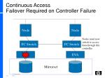 continuous access failover required on controller failure