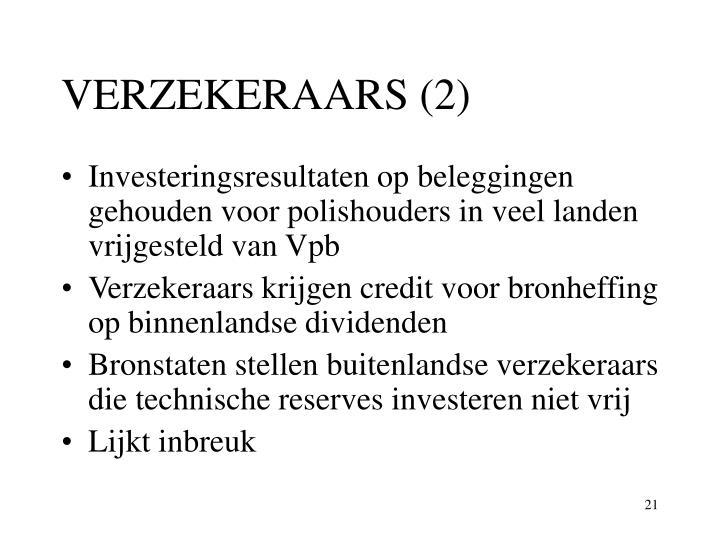 VERZEKERAARS (2)