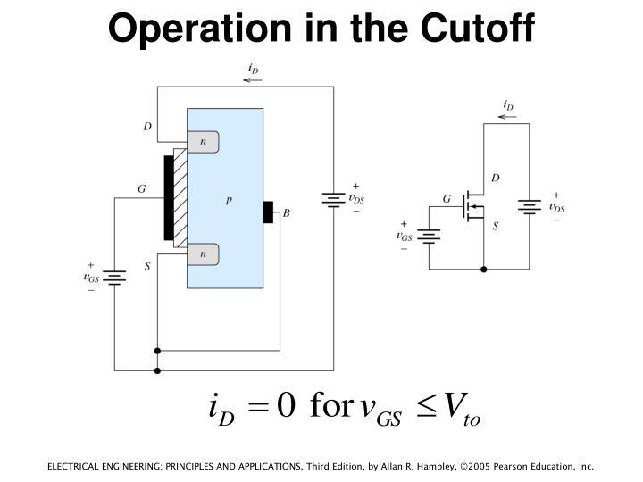 Operation in the Cutoff Region