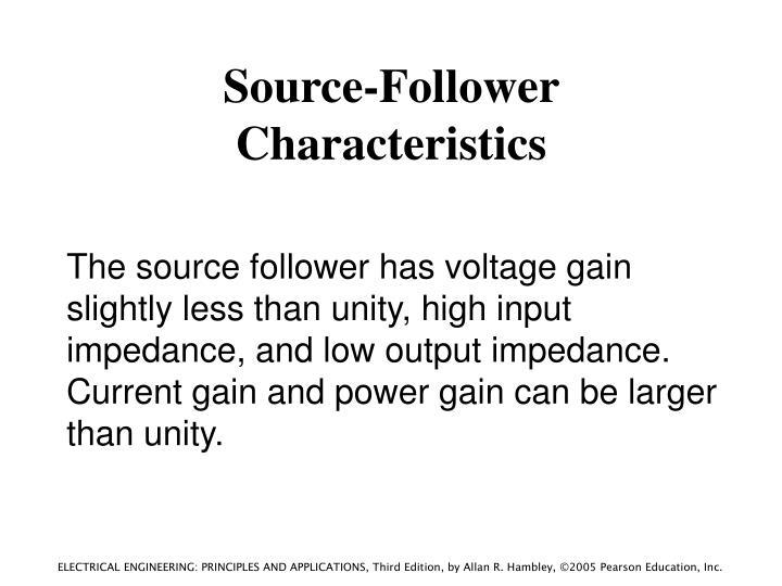Source-Follower Characteristics