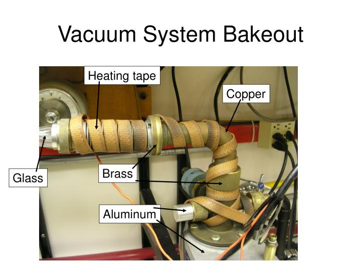 Vacuum System Bakeout