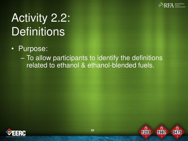 Activity 2.2:
