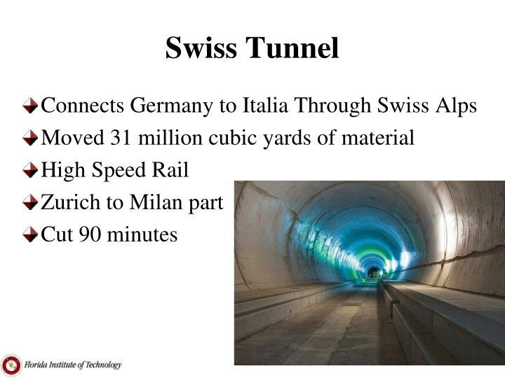 Swiss Tunnel
