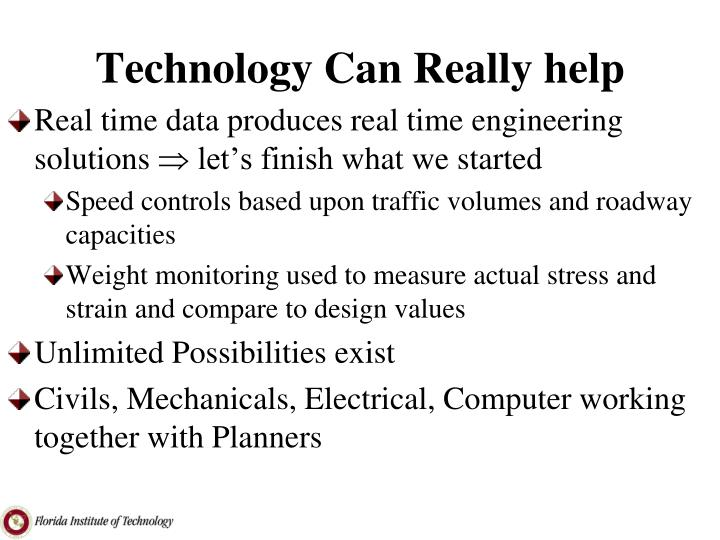 Technology Can Really help