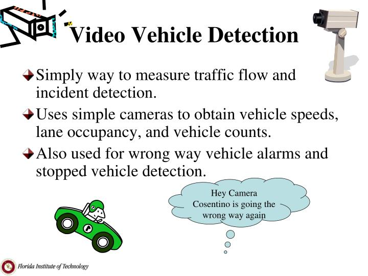 Video Vehicle Detection