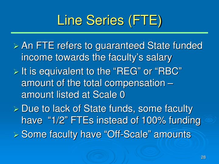 Line Series (FTE)
