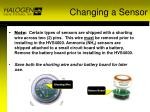 changing a sensor1