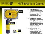 hvs4000 at a glance