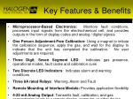 key features benefits