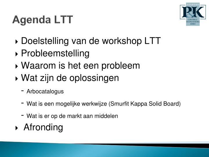 Agenda ltt