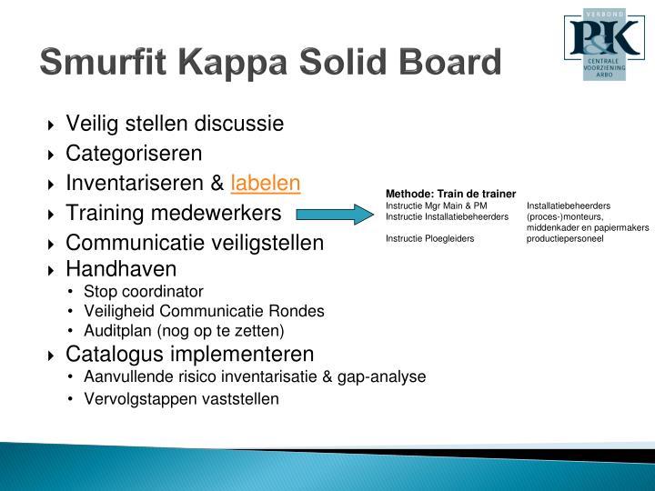 Smurfit Kappa Solid Board
