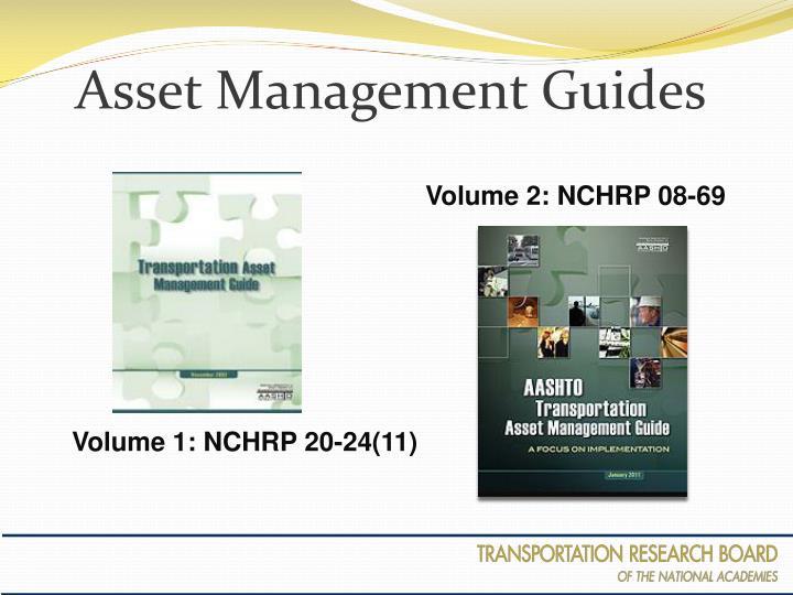 Asset Management Guides