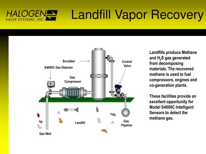 Landfill Vapor Recovery