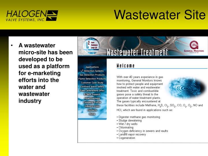 Wastewater Site