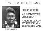 1877 nez perce indians