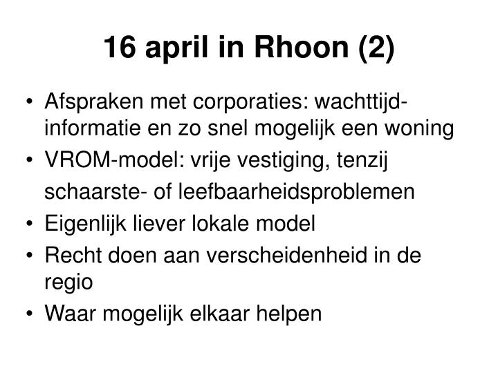 16 april in Rhoon (2)