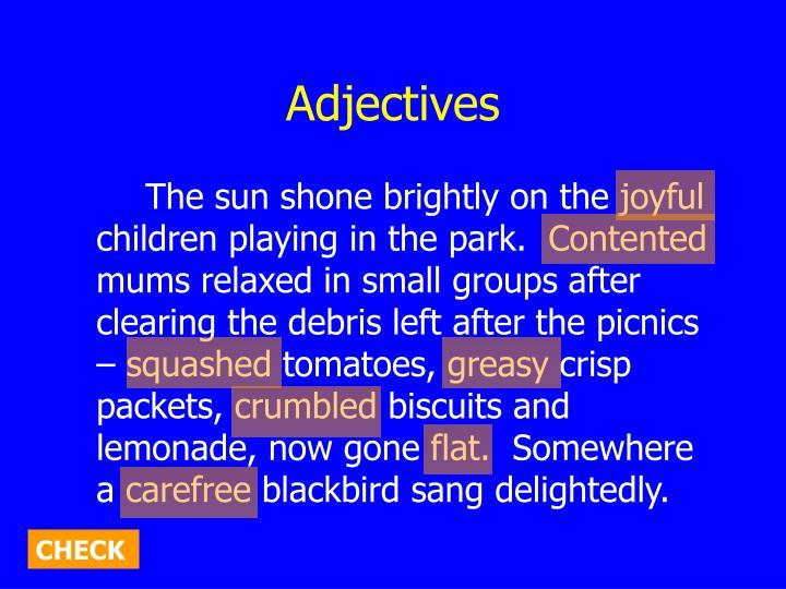 Adjectives2