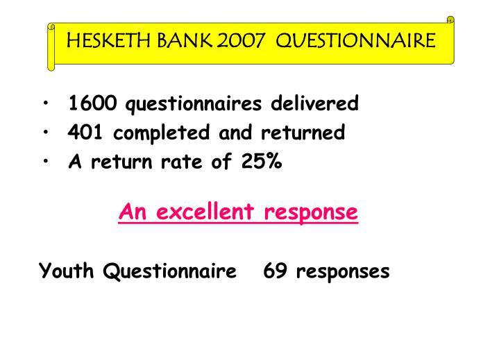 HESKETH BANK 2007