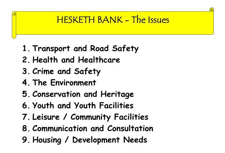 HESKETH BANK