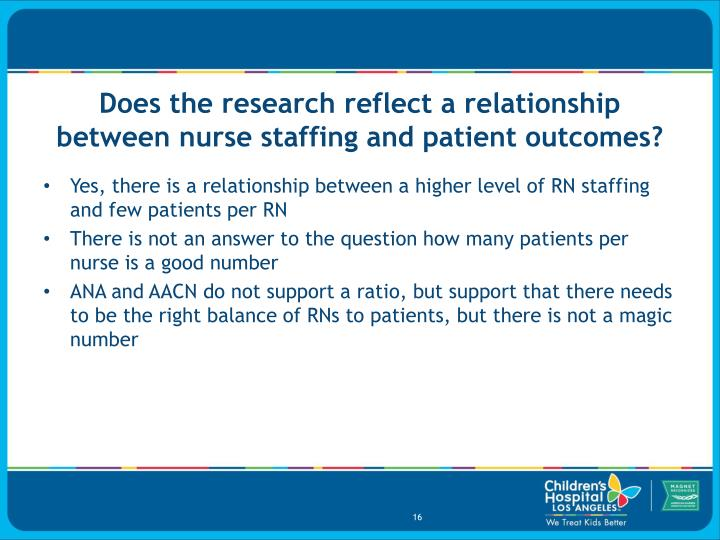 Does the research reflect a relationship between nurse staffing and patient outcomes?