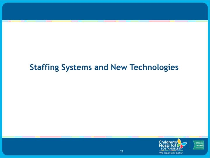 Staffing Systems and New Technologies
