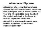 abandoned spouse