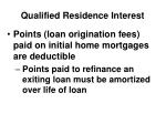 qualified residence interest2