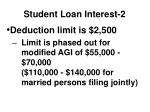student loan interest 2