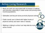 active living research