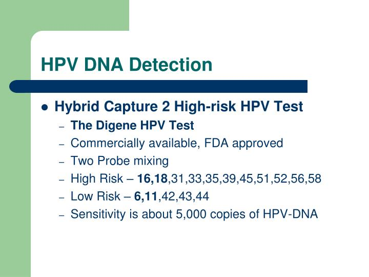 HPV DNA Detection