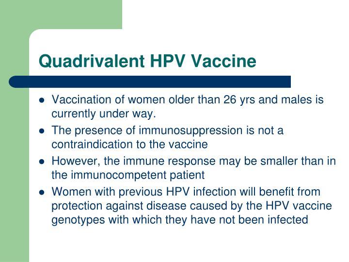 Quadrivalent HPV Vaccine