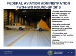 federal aviation administration fwd hwd round up 2010
